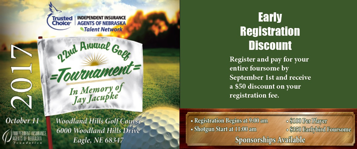 22nd Annual Golf Tournament