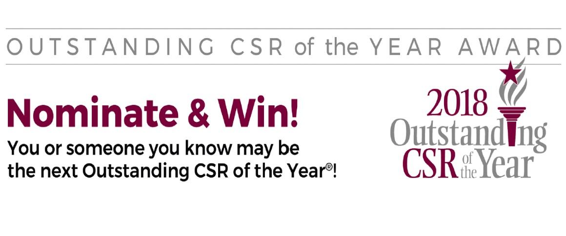 CSR of the Year Nominations